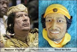 Gaddafi Meme - muammar al gaddafi totally looks like sinbad the sailor memebase