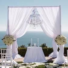 wedding ceremony canopy 50 gorgeous wedding ceremony structures bridalguide