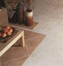 flooring tile floor and decor lombard with flower vase and teak