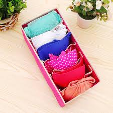 aliexpress com buy wowcc 4pcs underwear bra organizer storage