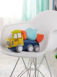 cement mixer plush cushion kas australia shop kids home decor