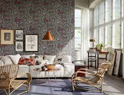livingroom wallpaper 9 ways to use wallpaper in a living room