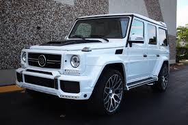 mercedes g class brabus 2016 mercedes benz g class amg g 63 brabus for sale in miami fl
