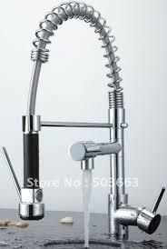 new free ship pull out faucet chrome water power swivel kitchen