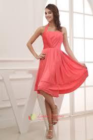 coral bridesmaid dresses 100 simple coral halter neck dress cheap coral bridesmaid dresses