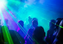 disco light disco party lights fog and machine hire