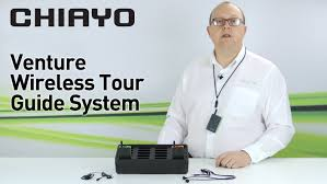tour guide headset system chiayo venture wireless tour guide system youtube
