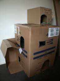 Cat Condos Cheap Diy Cardboard Cat Houses Tutorial Diy Cat Tree Condo Resort