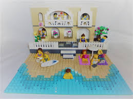 lego ideas family vacation by the beach