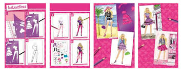 barbie fashion design artist tote set product review wts toy review