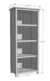 How To Build Your Own Bookshelf Ana White Kentwood Bookshelf Diy Projects