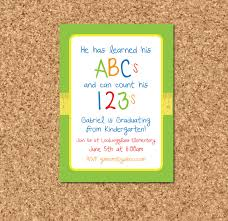pre k graduation gift ideas templates inexpensive preschool graduation invitation with