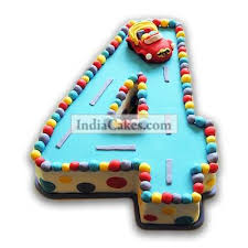 car cake order 4th birthday car cake 3 kg indiacakes