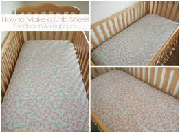 Sheets For Crib Mattress To Make A Crib Sheet The Ribbon Retreat