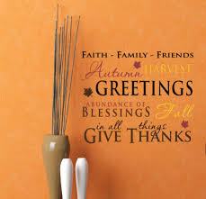 thanksgiving wall decals trading phrases