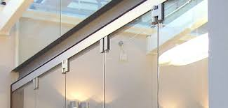 Framless Glass Doors by Frameless Glass Folding Doors Teufelbeschlag Gmbh