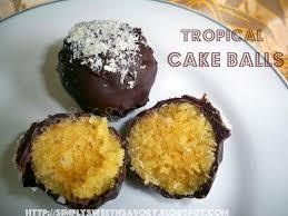simply sweet u0027n savory tropical cake balls tagged u0026 award
