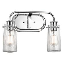 Kichler Lighting Lights by Braelyn 2 Light Bath Light In Chrome