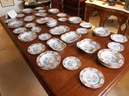 spode china dinner service c1820 indian tree pattern