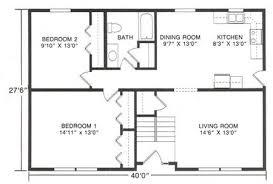 2 bedroom ranch floor plans inspirational two bedroom ranch house plans new home plans design