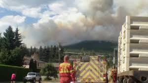 Wildfire Training Bc by West Kelowna Wildfire Now Partially Contained At 250 Hectares