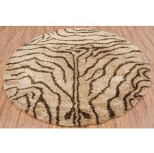 Couristan Kashimar Home Accents Amazon Round Area Rug Brown Black Beige Rugs