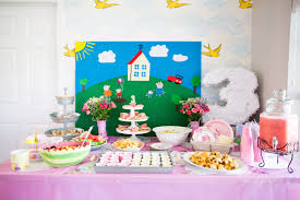 peppa pig birthday a peppa pig tea party birthday taylormade