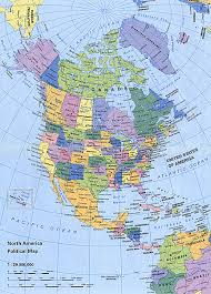 combined map of usa and canada atlas usa canada mexico