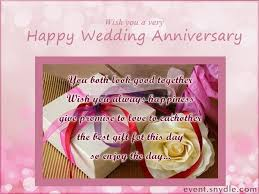 Wedding Day Wishes For Card Happy Wedding Anniversary Amazing Greeting Card Nicewishes