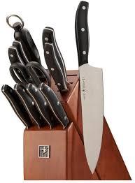 ja henckels kitchen knife block 12 pcs set stainless steel triple