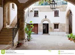 spanish interior courtyard royalty free stock images image 30084009
