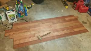 Surplus Laminate Flooring Made A Desk Out Of Cherry Flooring And Black Iron Pipe Album On