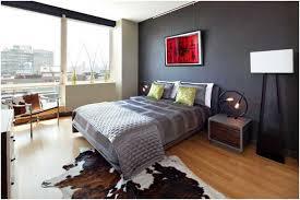 peinture mur chambre coucher peinture murale grise chambre coucher coussins tableau tapis parquet