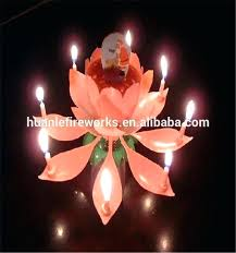 party candles fireworks firework birthday candles for cakes item lotus flower