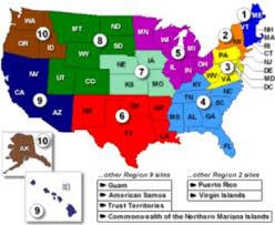 fema region map of the 10 u s fema regions why is only fema region 3 targeted
