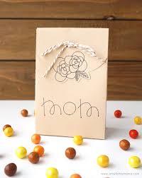 diy thanksgiving favor boxes artsy fartsy