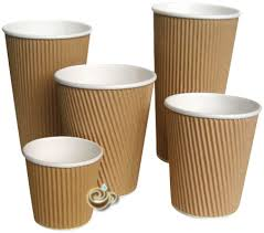coffe cups kraft ripple coffee cups