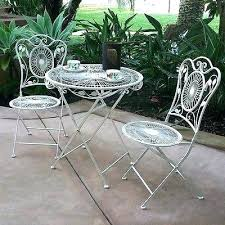 outdoor iron table and chairs garden bistro set bistro garden table 3 piece bistro set patio