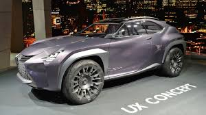 lexus crossover inside watch now lexus ux concept represents a bold crossover future