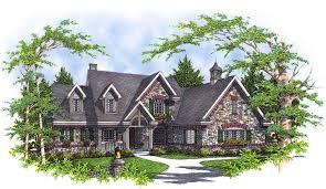 European Estate House Plans Amicalola Cottage Rustic Style House Plan European Plans With