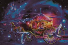 princess fluorescent paper puzzle 1000 pieces noctilucent