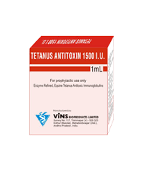 Serum Ats anti bacterial vins bioproducts limited