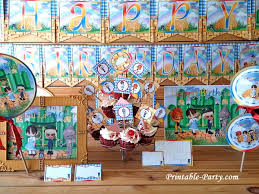Wizard Of Oz Party Decorations Inspired By Wizard Of Oz Party Supplies Magical Land Of Oz