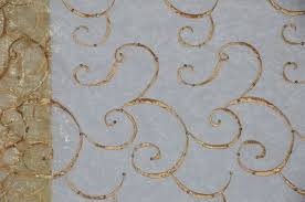 gold ferial organza embroidery table runners
