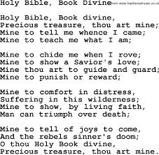 baptist hymnal christian song holy bible book divine lyrics