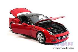 california model car california t open top by bburago race play 1 18