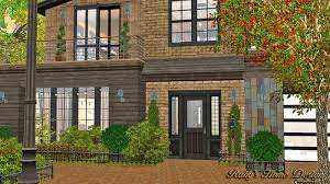 sims3 industrial chic 工業風住宅 ruby u0027s home design