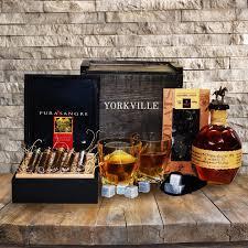 cigar gift basket bourbon cigars liquor gift basket yorkville s usa