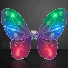 light up fairy wings purple blinking butterfly wings by flashingblinkylights com