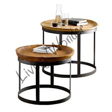 Mango Wood Side Table Best 25 Industrial Coffee Table Sets Ideas On Pinterest Pallet